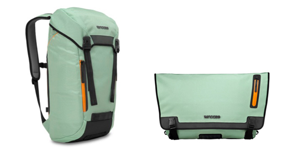 incaseのCourier Collection Messenger BackpackとMessenger Bag