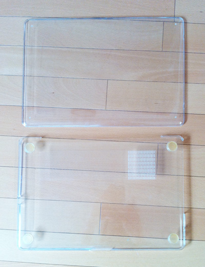 Speck 一年間使ったMacBook Pro SeeThru (Clear) SPK-MB17AU-SEE-CLR本体