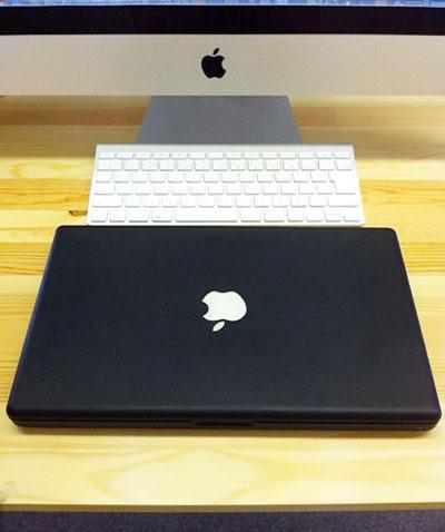おかえりなさい、MacBook黒さん