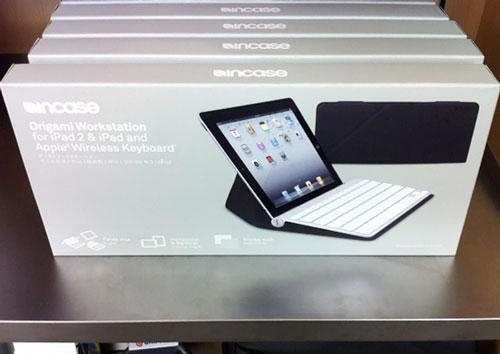 incaseのOrigami Workstationがアップルストアに売っていた。