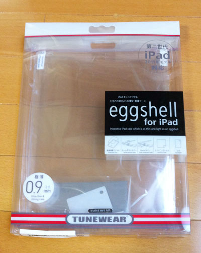 箱偽造品eggshell for iPad 2 + Smart Cover の