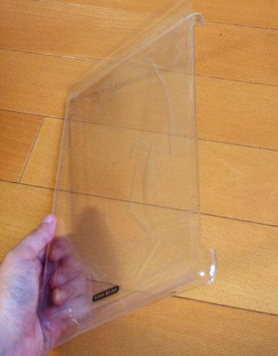 偽造品eggshell for iPad 2 + Smart Cover 本体。問題はデザイン以外にはない。