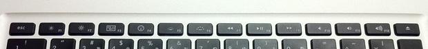 MacBook Pro(mid 2010)のファンクションキー