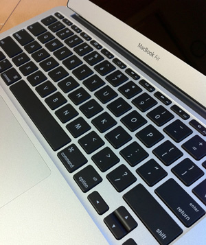 MacBook Air(Mid 2011)のUSキーボード