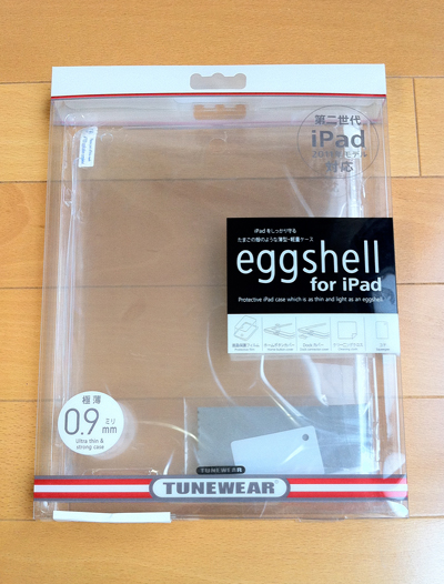 TUNEWEAR / eggshell for iPad 2 + Smart Cover(TUN-PD-000079)の模倣品