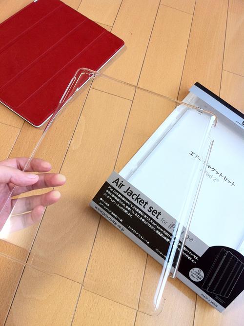 パワーサポート Airジャケットセット for iPad 2 薄くて軽い