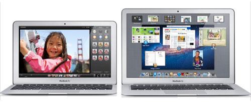 MacBook Air 11インチと13インチ