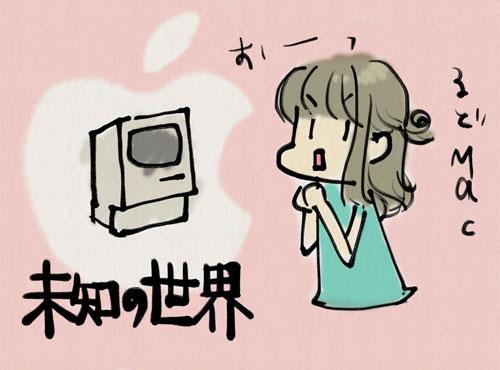 ユコびんさんにとって、古いMacは未知の世界