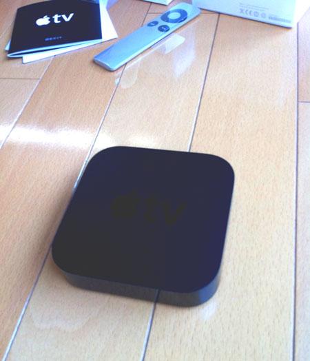 真っ黒の小箱、Apple TV