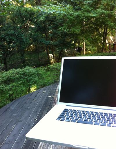 修行のお伴にMacBook Pro