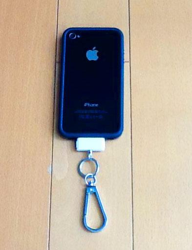 Simplism DockCarabiner NeoをiPhone4につけてみる