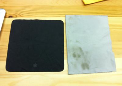 MacBook Air(Pro)をきれいにするクリーニングクロス