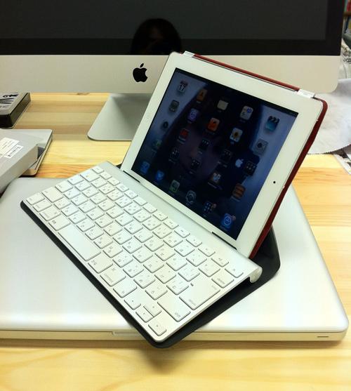 origamiとiPad 2とAppleキーボード