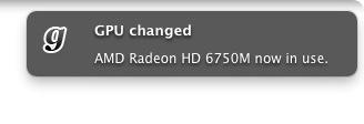 GPUがきりかわった時にGrowでお知らせ。