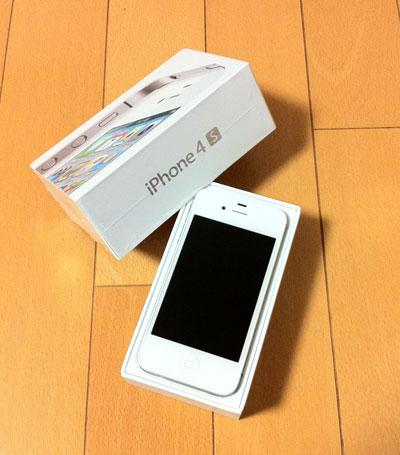 SIMフリーiPhone 4S ホワイトモデル 64GB