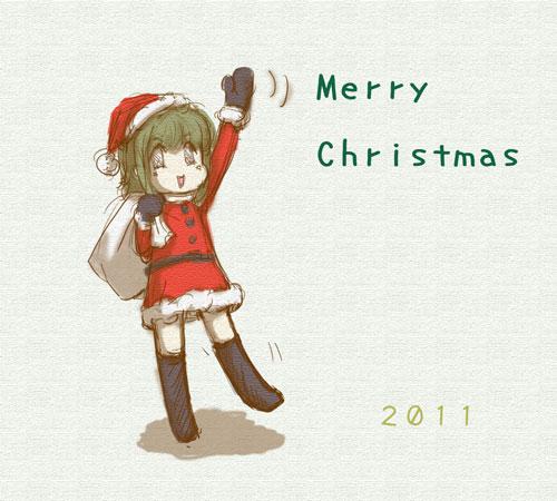 リンあれからメリークリスマス。ユコびんサンタ