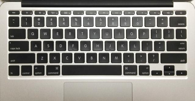 USキーボード(MacBook Air 11