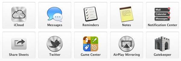 OS X v10.8 Mountain Lionの特筆すべき10つの新機能