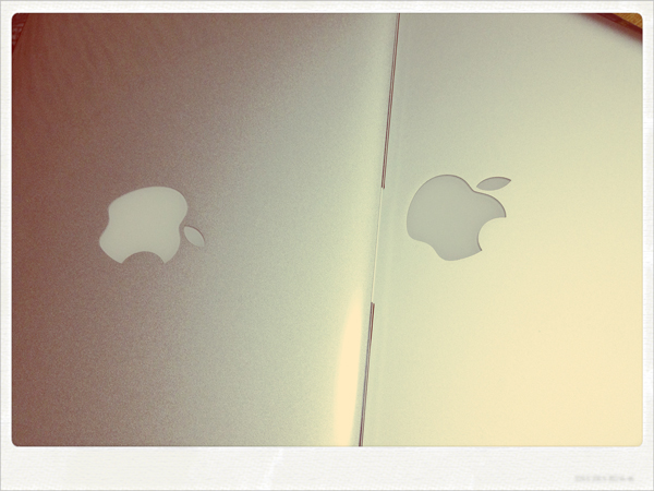 MacBook Pro(Early 2011)とMacBook Air(Mid 2011)