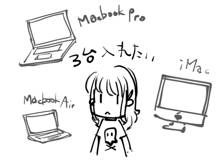 Adobeのアプリを3台のMacに入れたいのに…。
