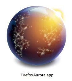 Firefox, Auroraアイコン