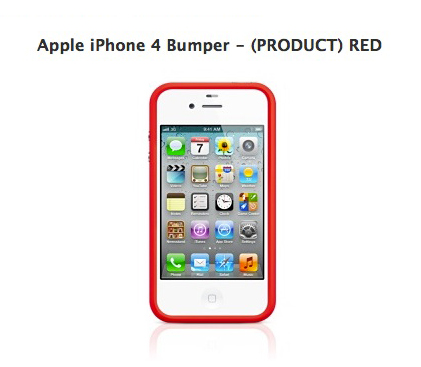 iPhone 4 Bumper - (PRODUCT) RED