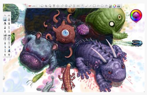 SketchBook Pro 6 サンプル画1