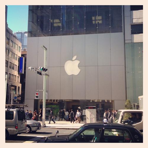 App Store銀座に13インチ Retina MacBook Proを買いに行くユコびん