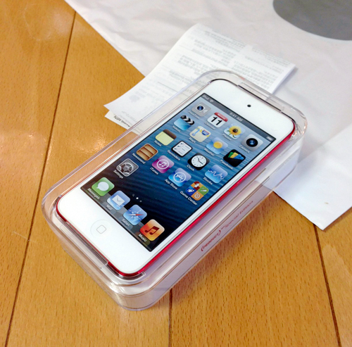 iPod touch PRODUCT Red